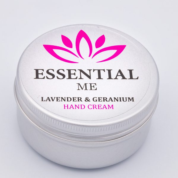 essential me lavender and geranium hand cream