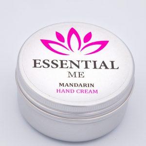 essential me mandarin hand cream