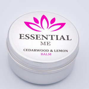 essential me cedarwood and lemon balm