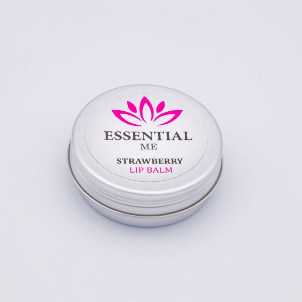 essential me strawberry lipbalm