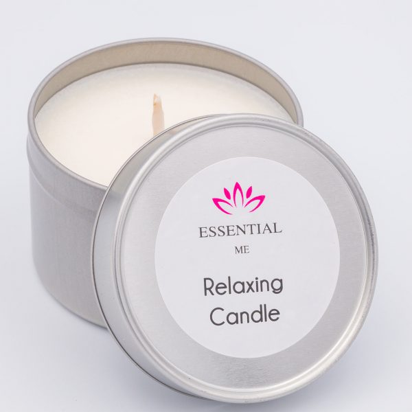 essential me relaxing candle
