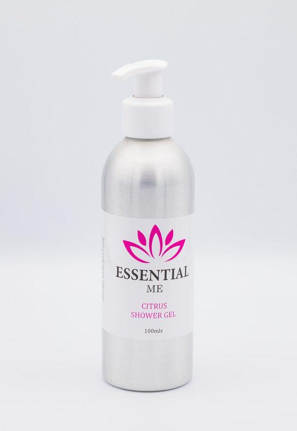 essential me citrus shower gel