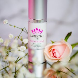 Essential Me rose face cream natural