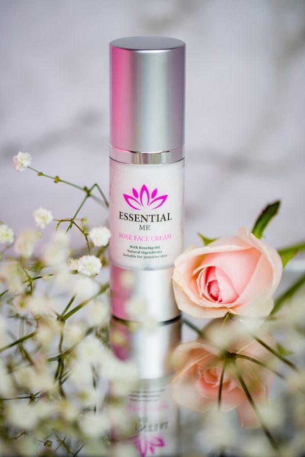 Essential Me rose face cream natural