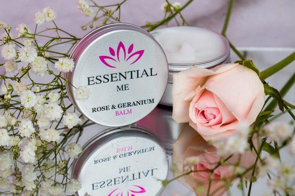 essential me rose and geranium balm ireland natural